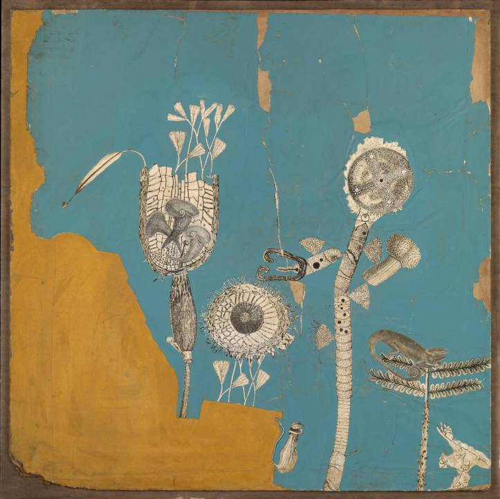 Collage for 'Patio and Pavilion' (the growth of plant forms) 1956 by Nigel Henderson 1917-1985